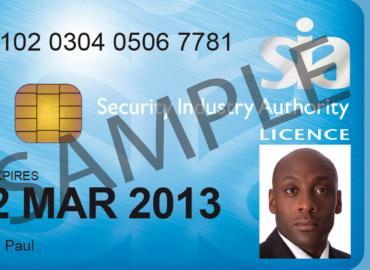 SIA license